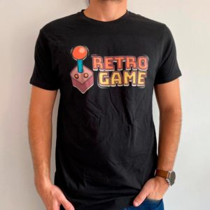 CAMISETA ORGANICA RETRO GAME