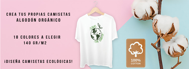 camisetas ecológicas