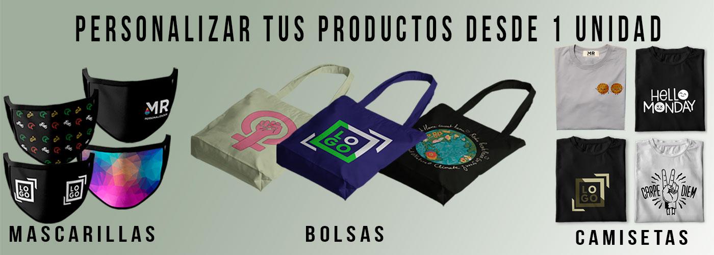 Personalizar productos textiles