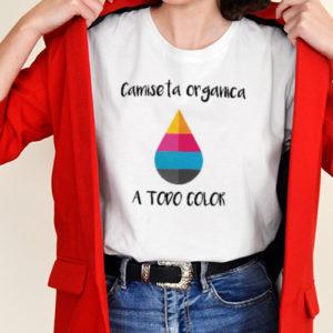 Camisetas personalizadas mujer Orgánicas Blancas