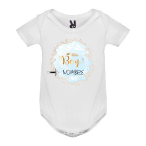 Body bebé personalizado guía niño
