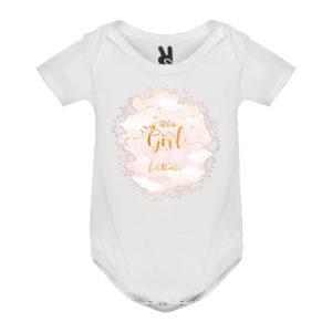 Body bebé personalizado es niña
