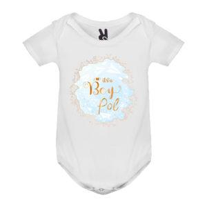 Body bebé personalizado es niño