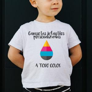Camisetas personalizadas niños