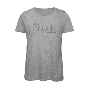 Camiseta personalizada Abuela desde