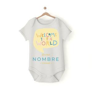 body personalizado bienvenido al mundo