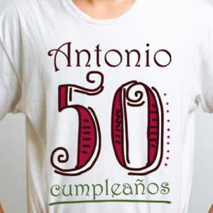 Camiseta 50 cumpleaños